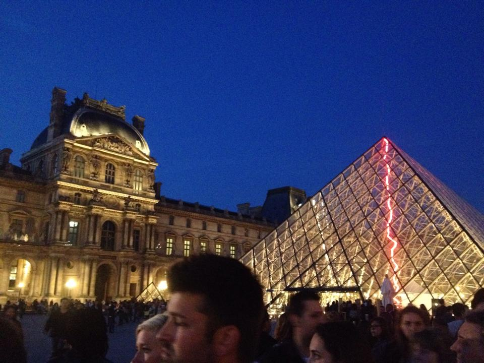 The Lourve - Paris