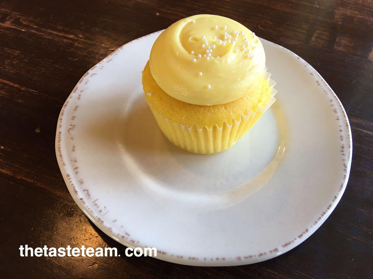 Lemon Butter Cupcake from Muddy's Bake Shop