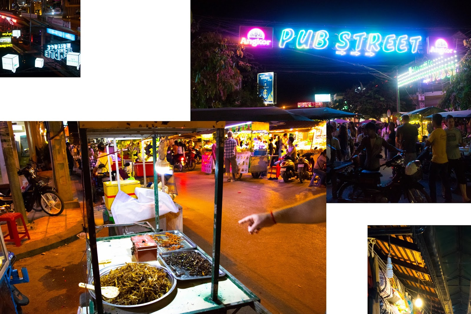 Cambodia Pub Street - Siem Reap - Bianca