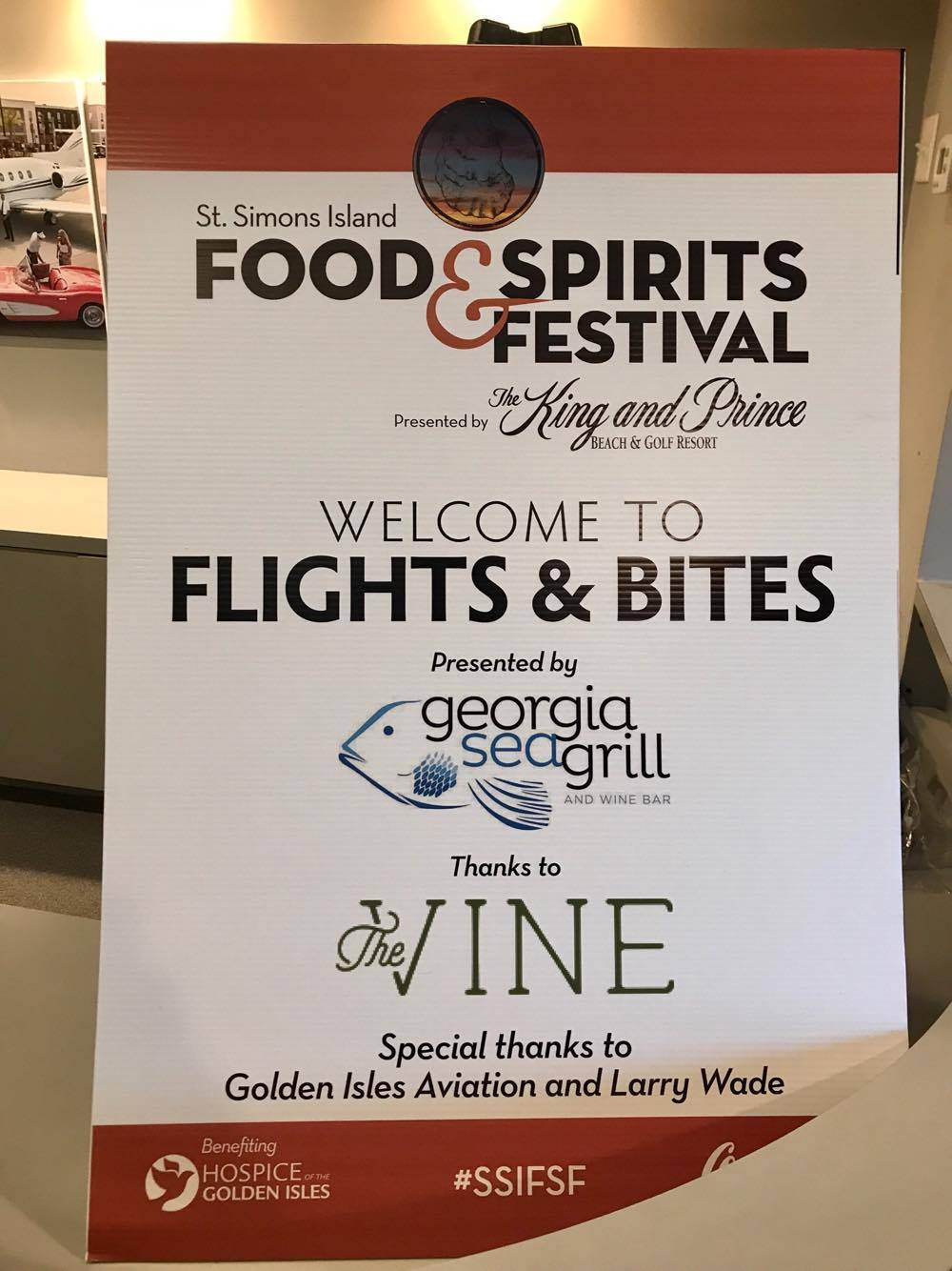 Flights and Bites - St Simons Island Food Spirits Festival