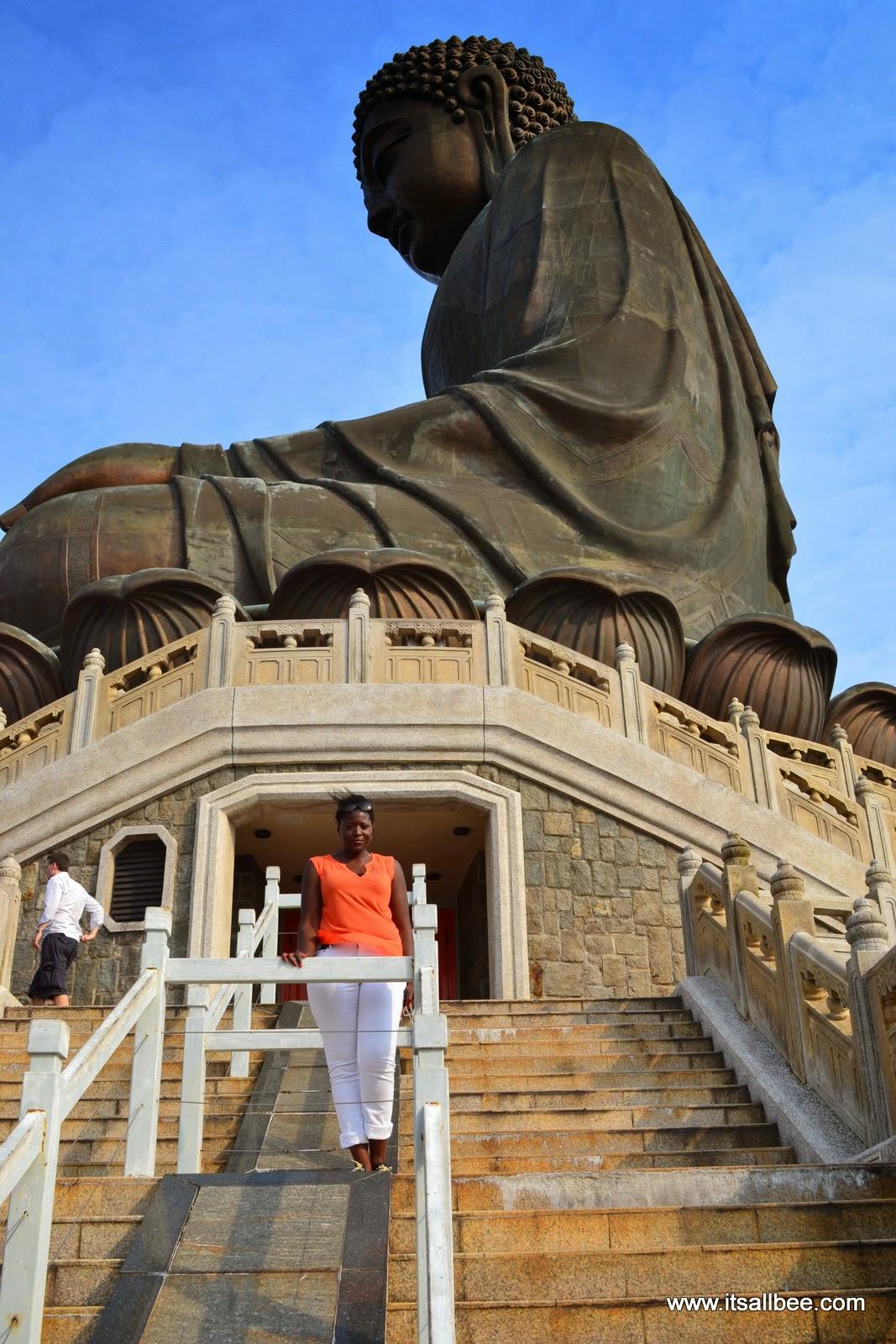 Hong Kong Lantau Island Big Buddha - Bianca