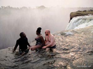 Livingstone Victoria Falls Devils Pool - Zambia - Bianca