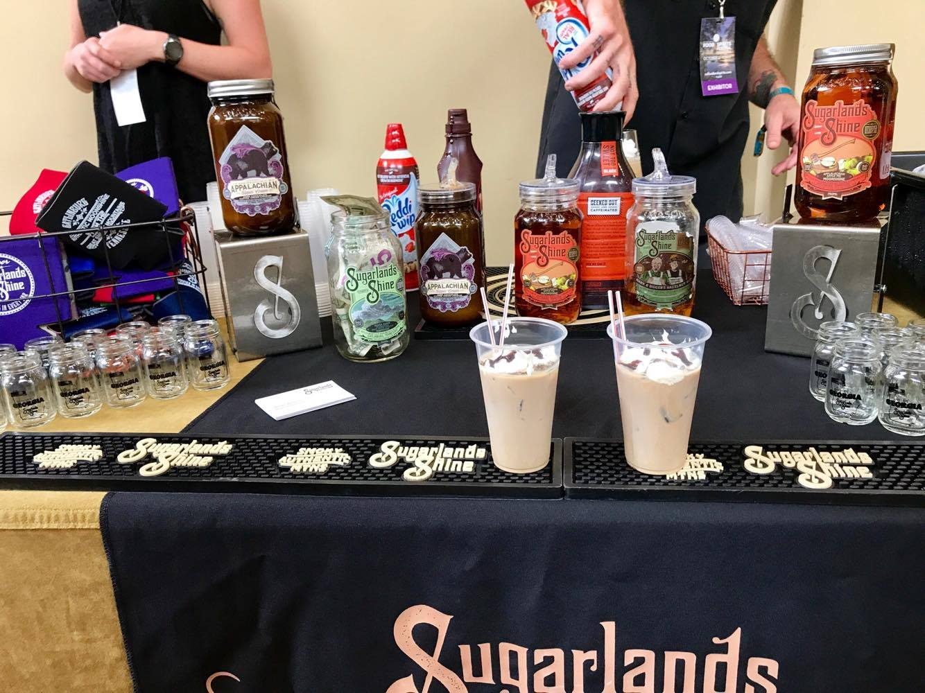 Spiritual Brunch - Delicious Spiked Coffee Drinks from Sugarlands - St Simons Island Food Spirits Festival