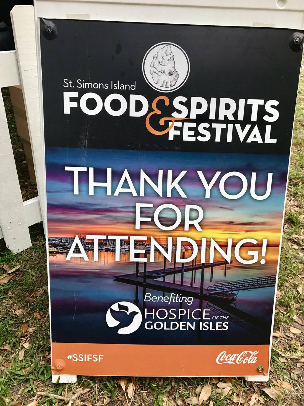 Thank you for Attending - St Simons Island Food Spirits Festival