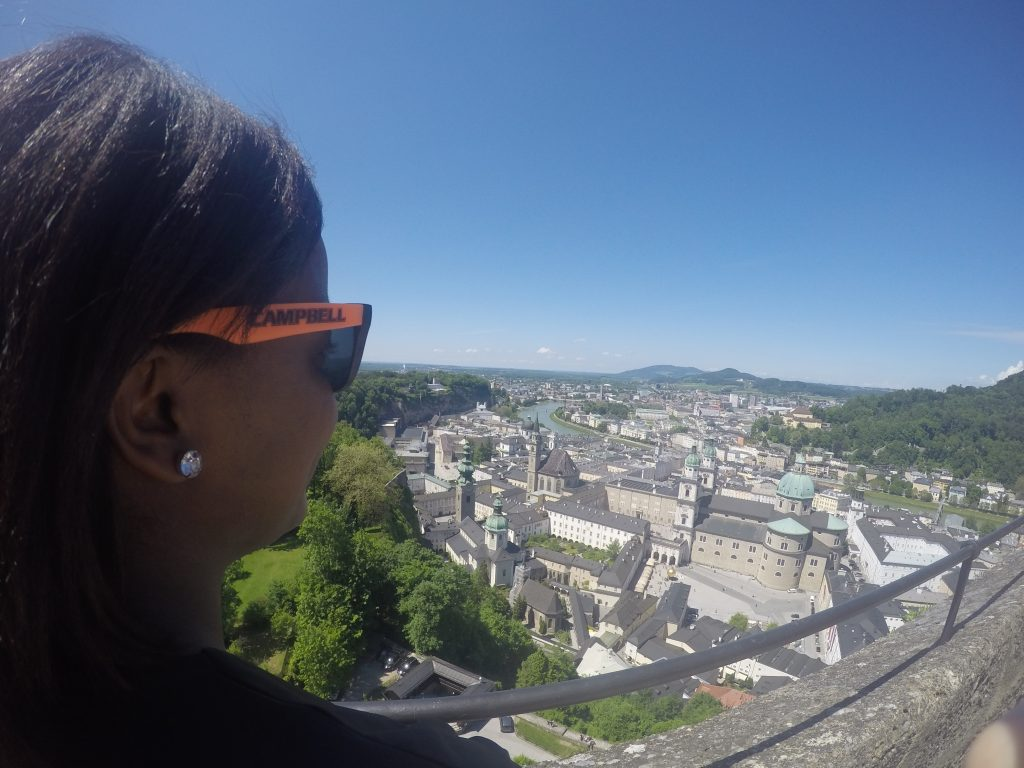 Top of the City Views in Salzburg, Austria - Study Abroad