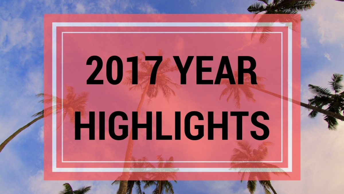 2017 Year Highlights