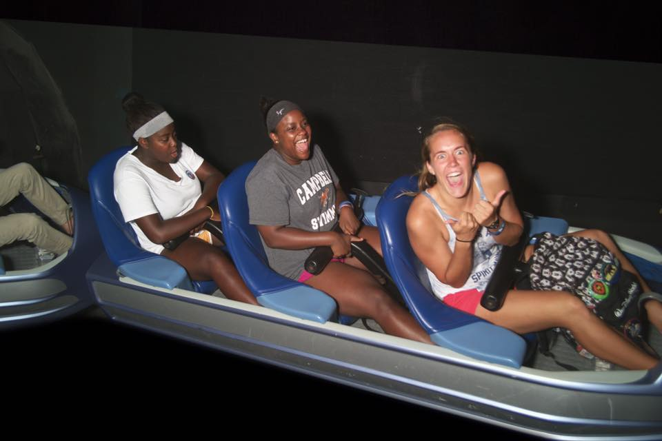I Look Like I'm Having Fun, But I Actually Hate Roller Coasters :)