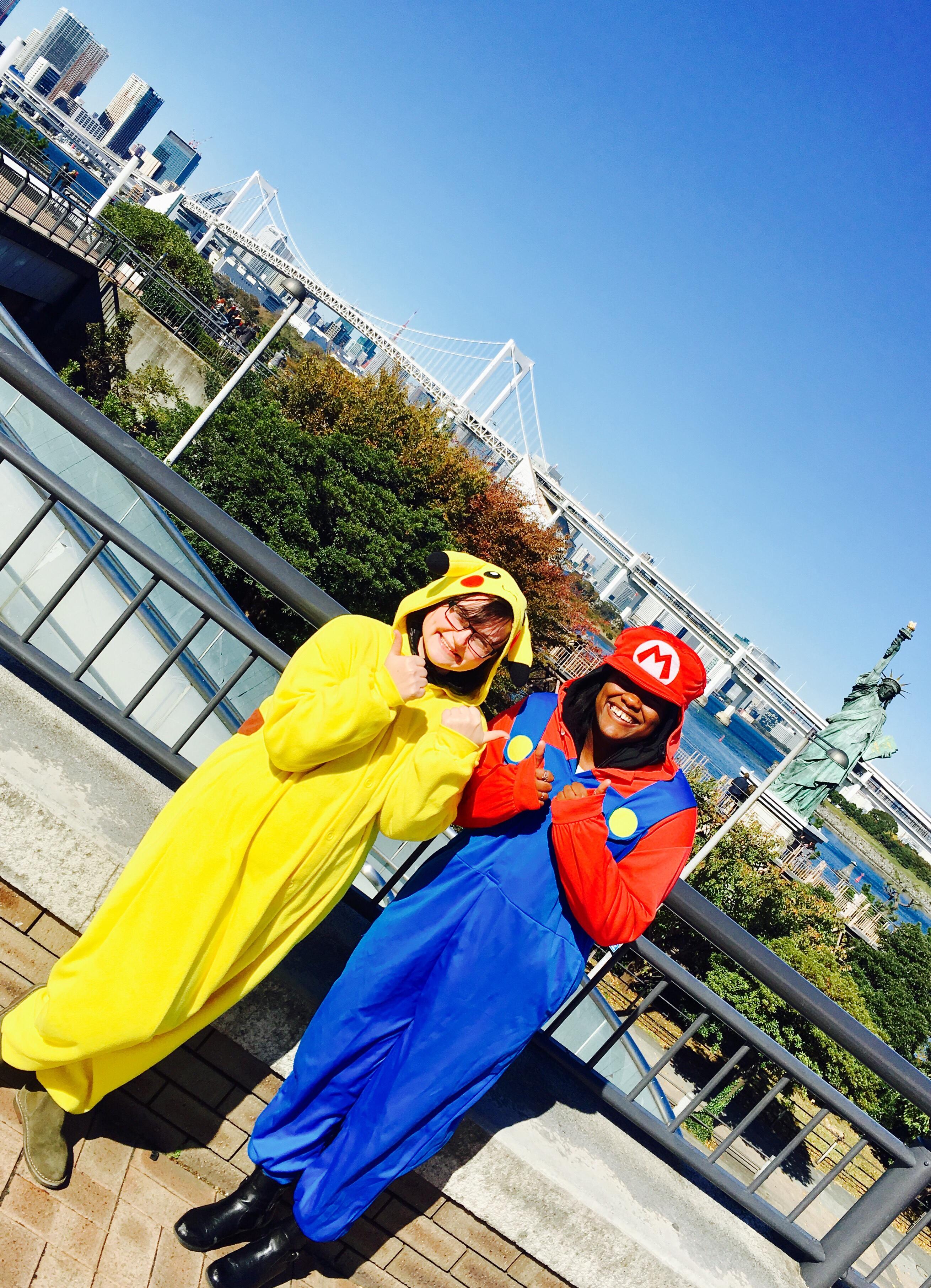 Pikachu & Mario - MariCar Tour