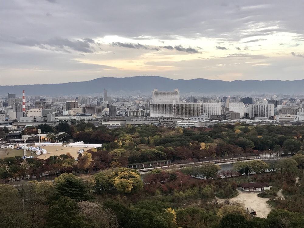 Views from the Osaka Castle - Photo Essay of Japan