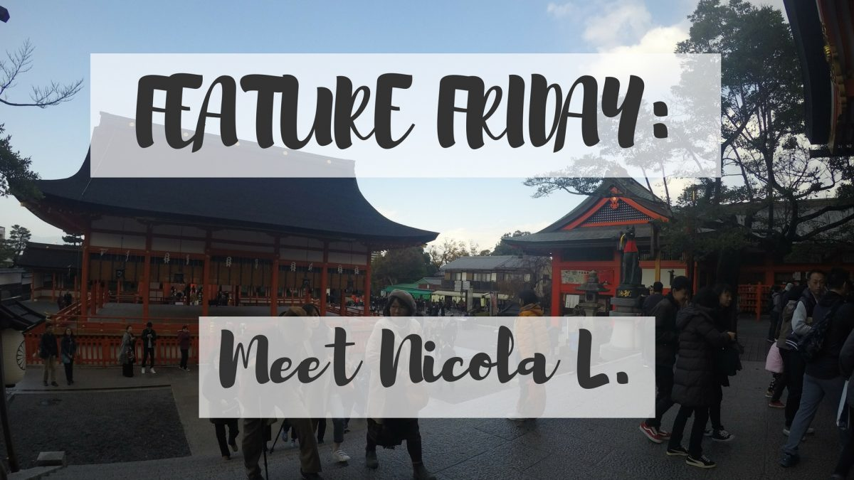 Feature Friday: Meet Nicola L.