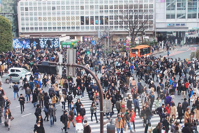 Unique Tokyo, Shibuya Crossing - Rhiannon