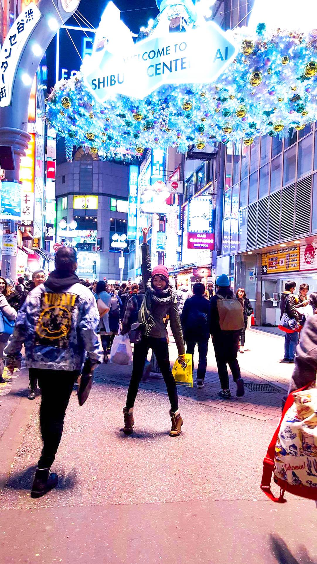 Shopping at Shibuya 109, Tokyo, Japan - Kay