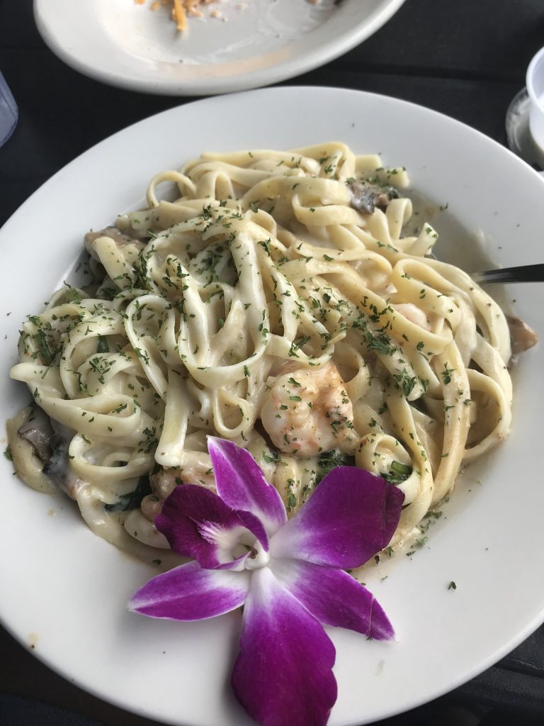 Shrimp Pasta -Savannah