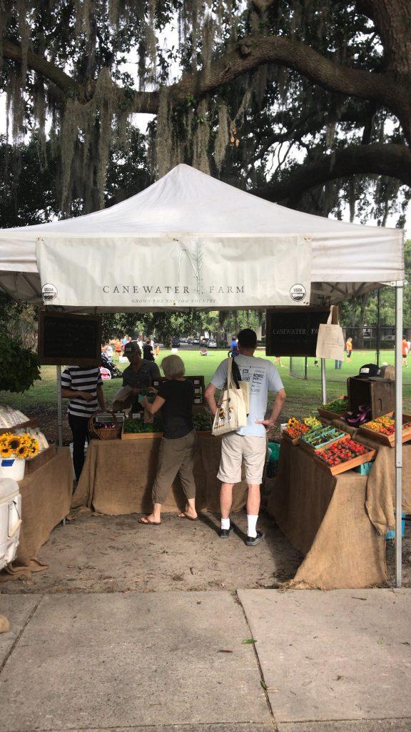 Cane Water Farm - Forsyth Farmers Market - Savannah