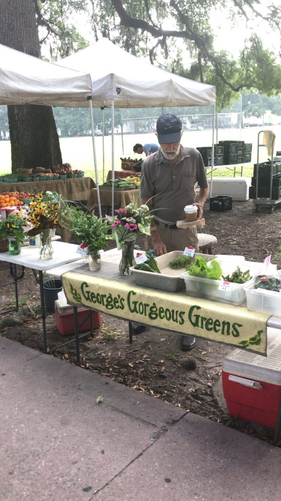 George's Gorgeous Greens - Forsyth Farmers Market - Savannah