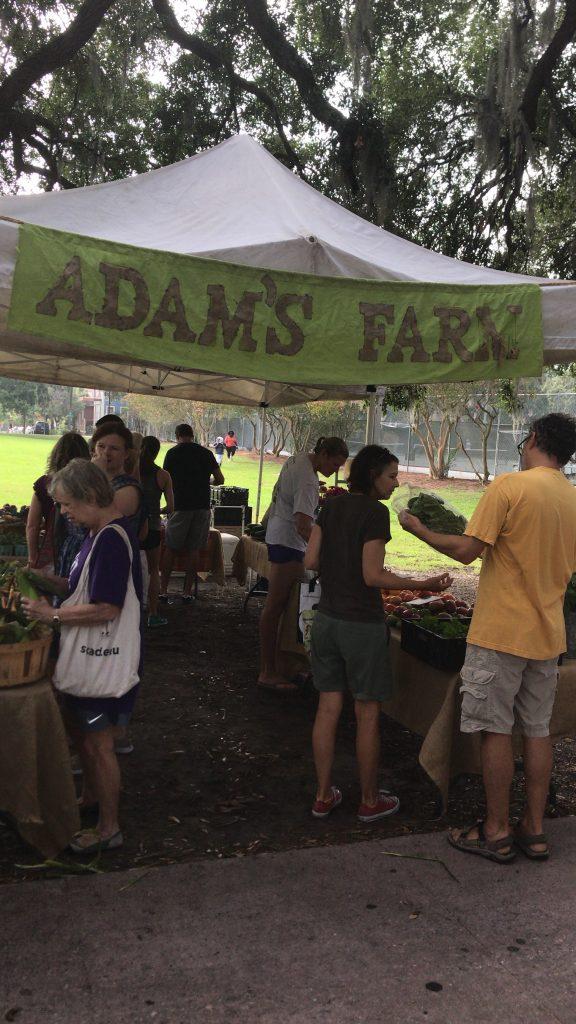 Adam's Farm - Forsyth Farmers Market - Savannah