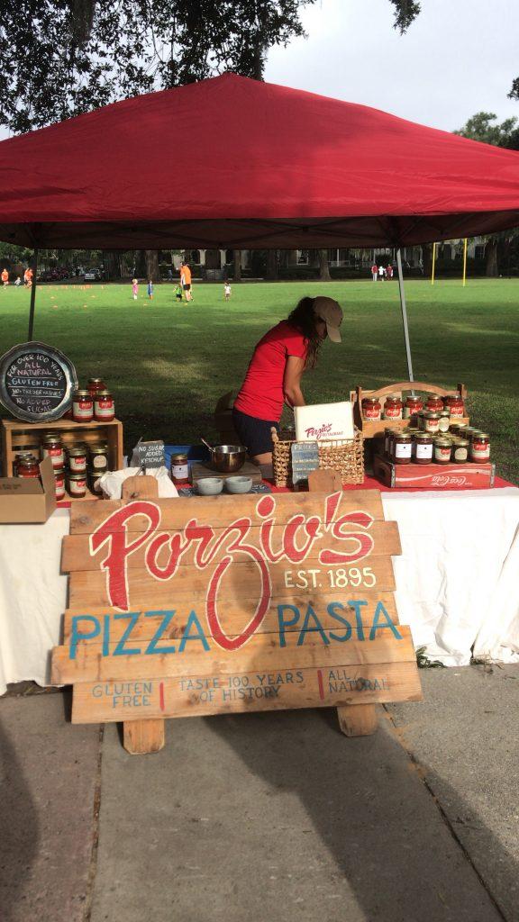 Porizo's Pizza & Pasta - Forsyth Farmers Market - Savannah