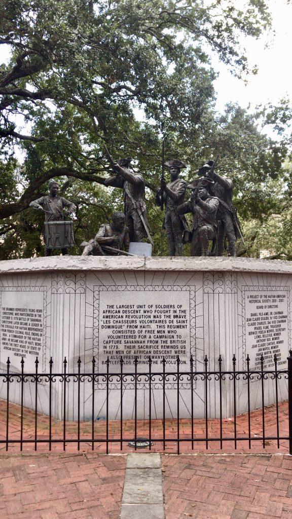 Haitian Monument - Savannah