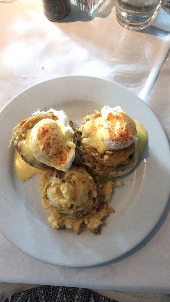 Crab Cake Benedict - Savannah