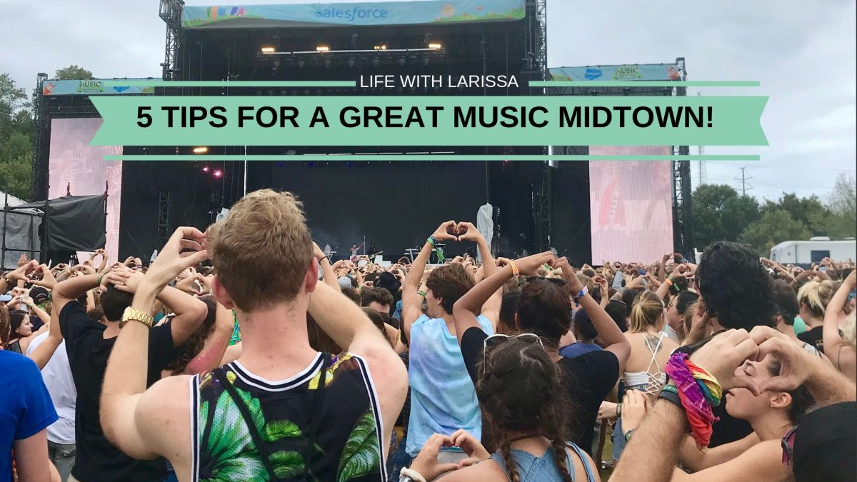 5 Tips for a Great Music Midtown