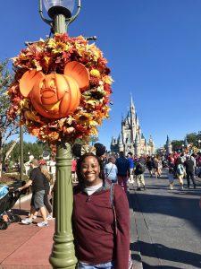 Beautiful Fall Wreaths & Mickey Pumpkins - Disney World