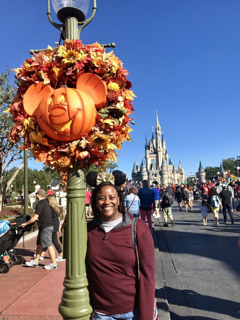 Beautiful Fall Wreaths & Mickey Pumpkins - Disney World