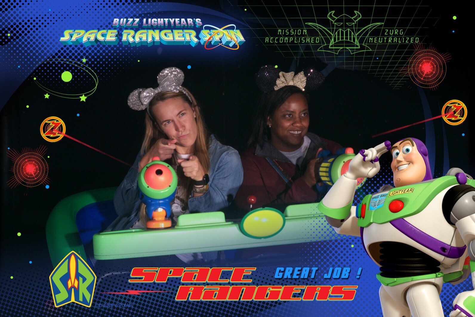 Space Rangers Here to Save the World! - Disney World