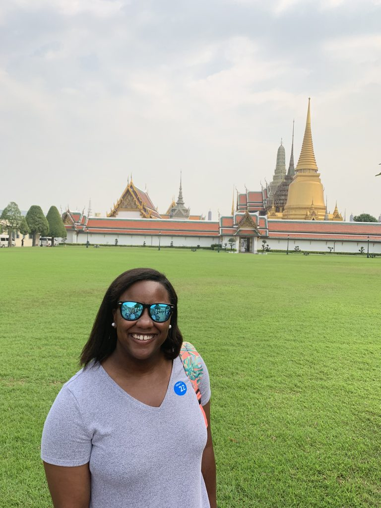 In Front of the Grand Palace