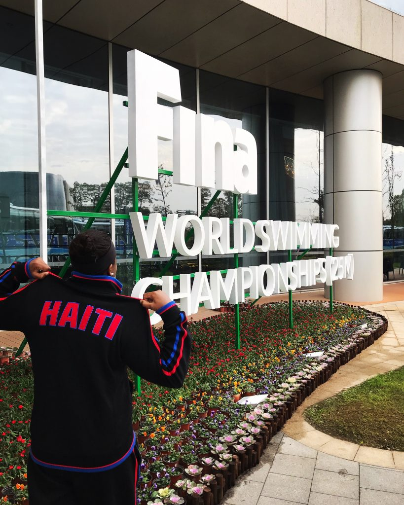 Representing Haiti in Hangzhou, China