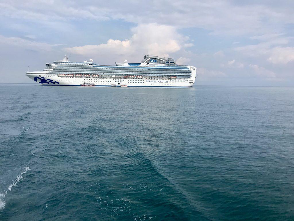 Sapphire Princess Ship