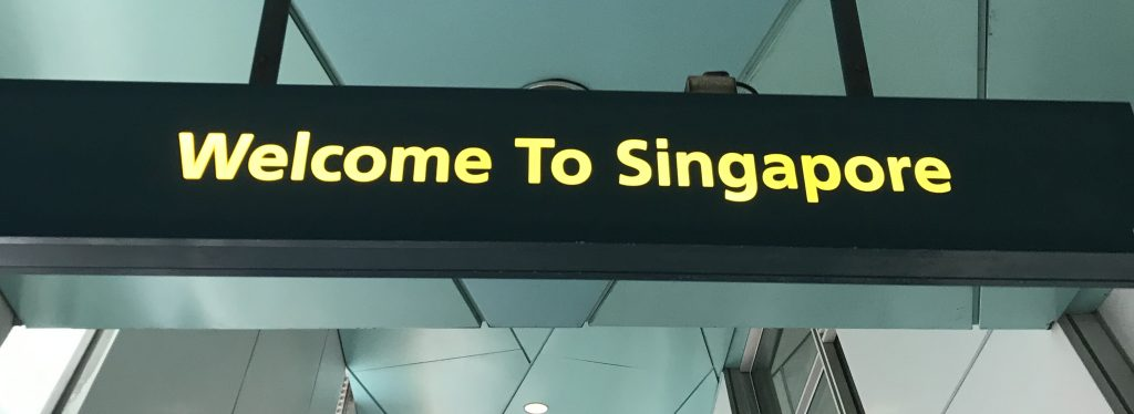 Welcome to Singapore!