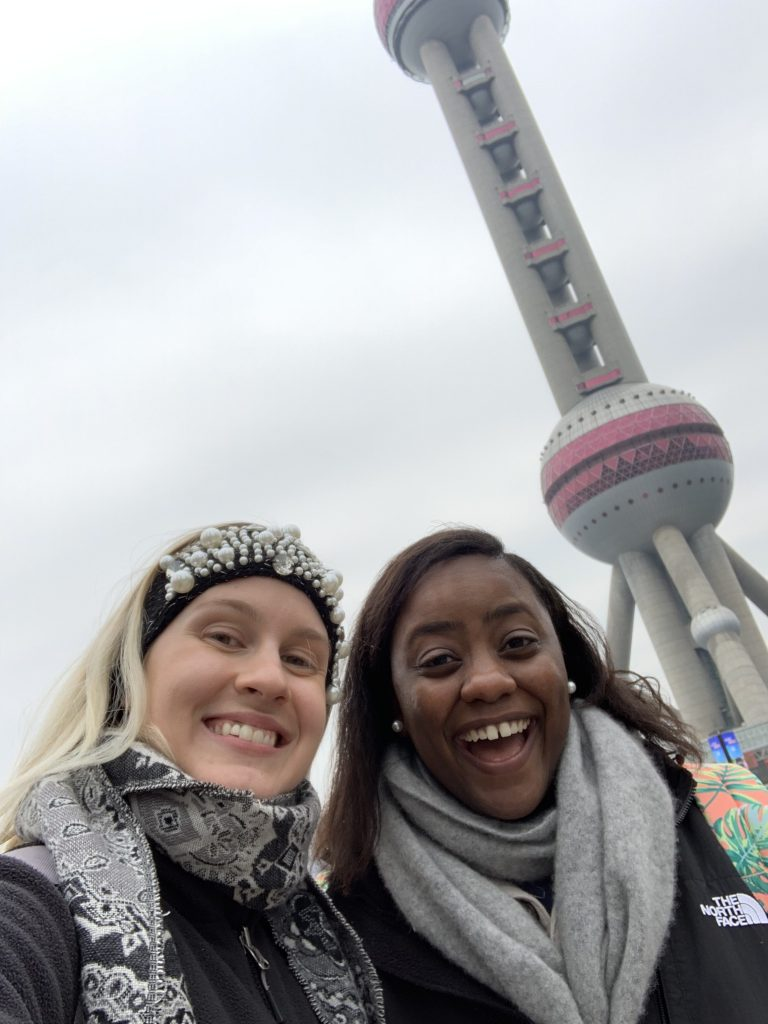 Seeing the Pearl Tower - Shanghai