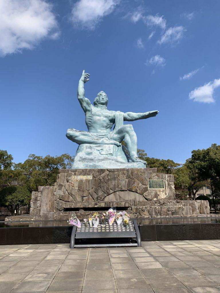 Peace Statue - Nagasaki
