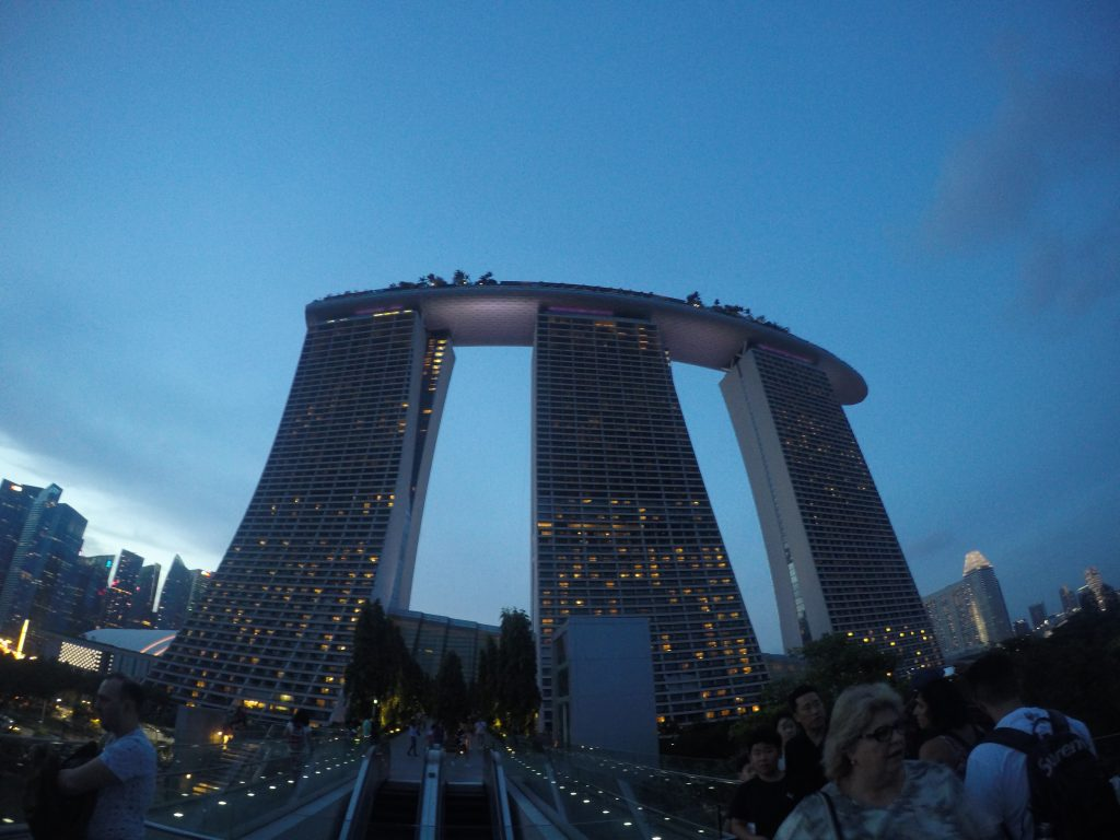 The Famous Marina Bay Sands - Singapore