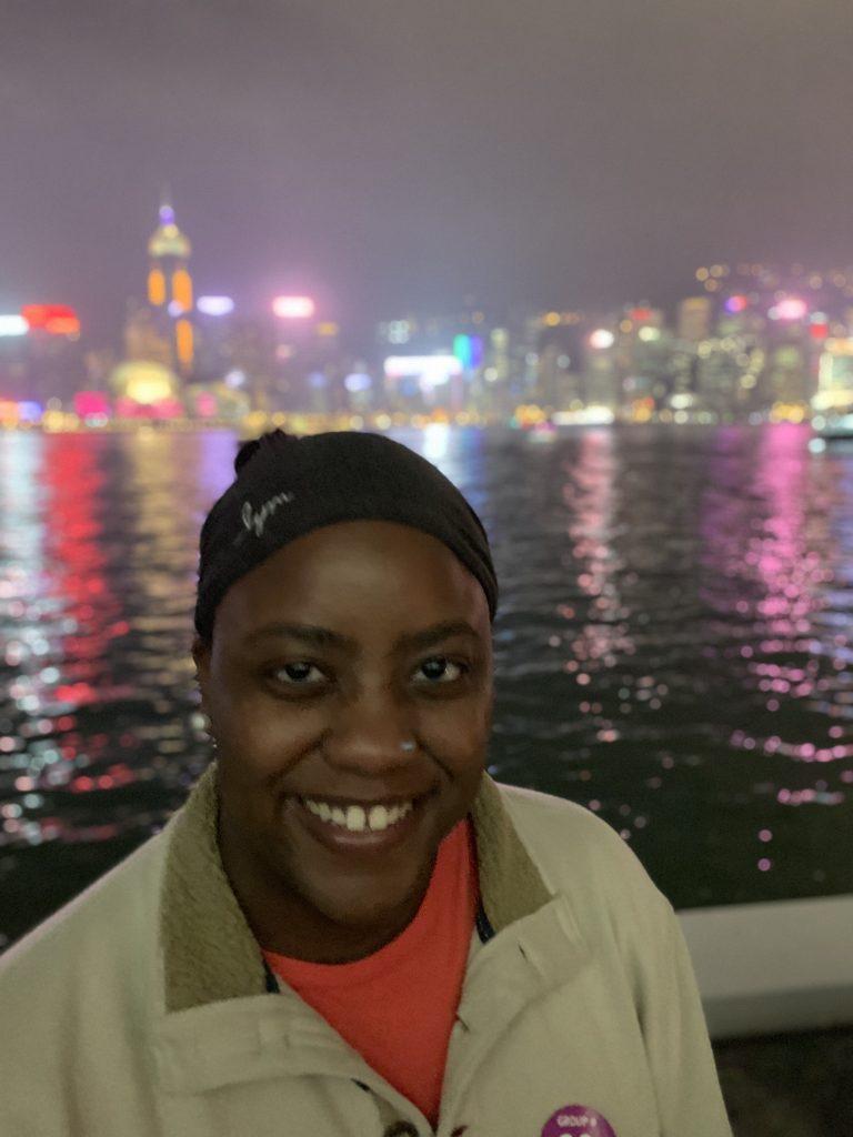 Appreciating the Lights of the Night - Hong Kong