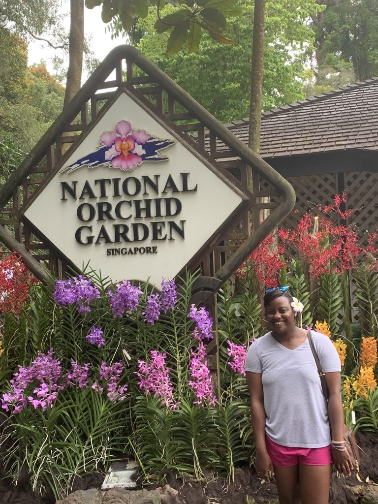 National Orchid Garden in The Botanical Gardens - Singapore