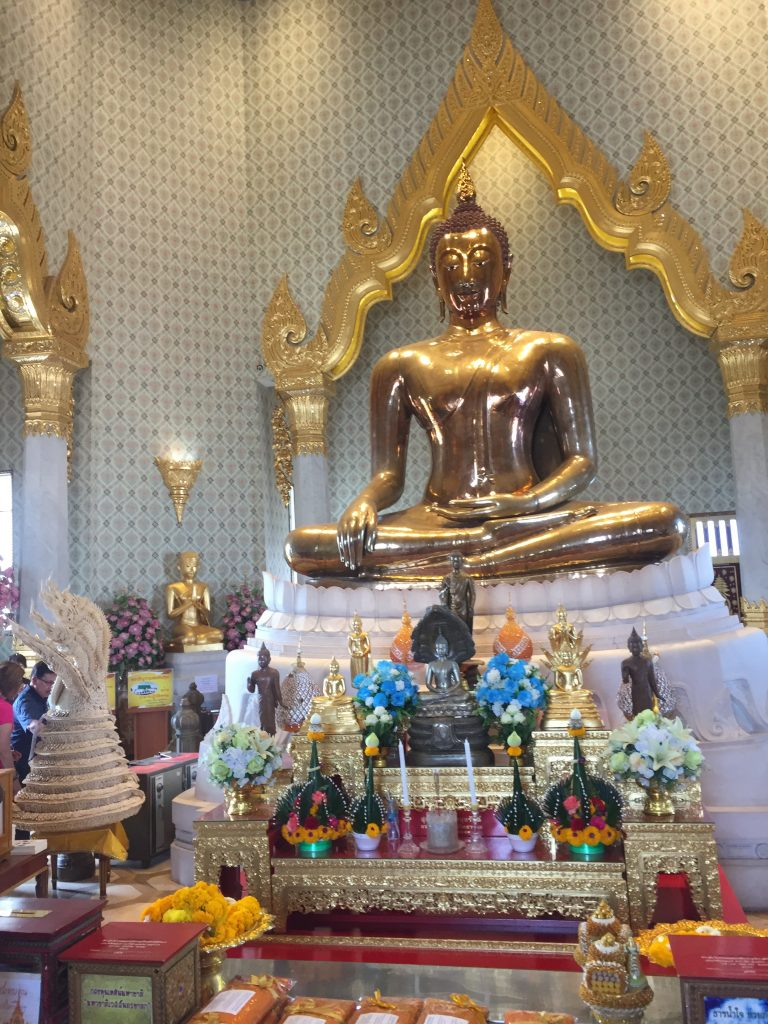 The Biggest Gold Buddha in the World - Bangkok