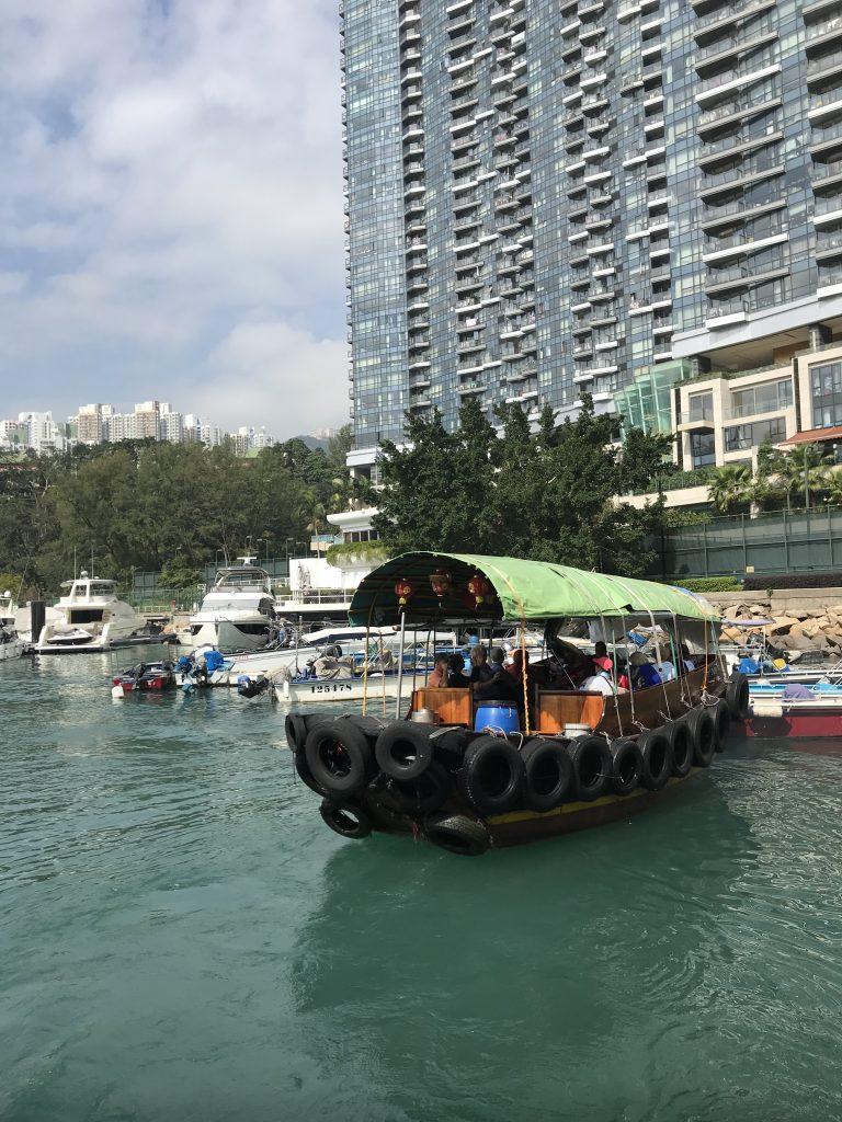 Sampan Boat Rides - Hong Kong