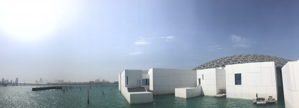 The Building is a Piece of Art Too! - Abu Dhabi