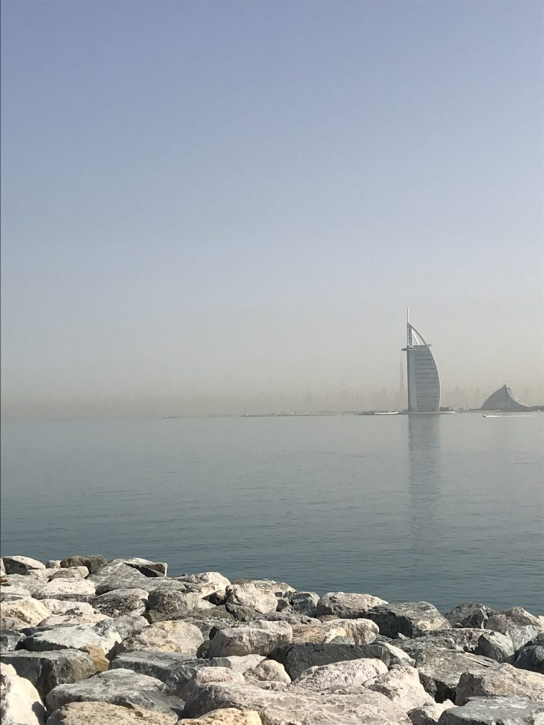 Does that look like a sail of a boat to you? - Dubai