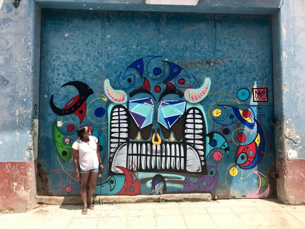 Admiring the Creativity Expressed as Street Art in La Habana, Cuba