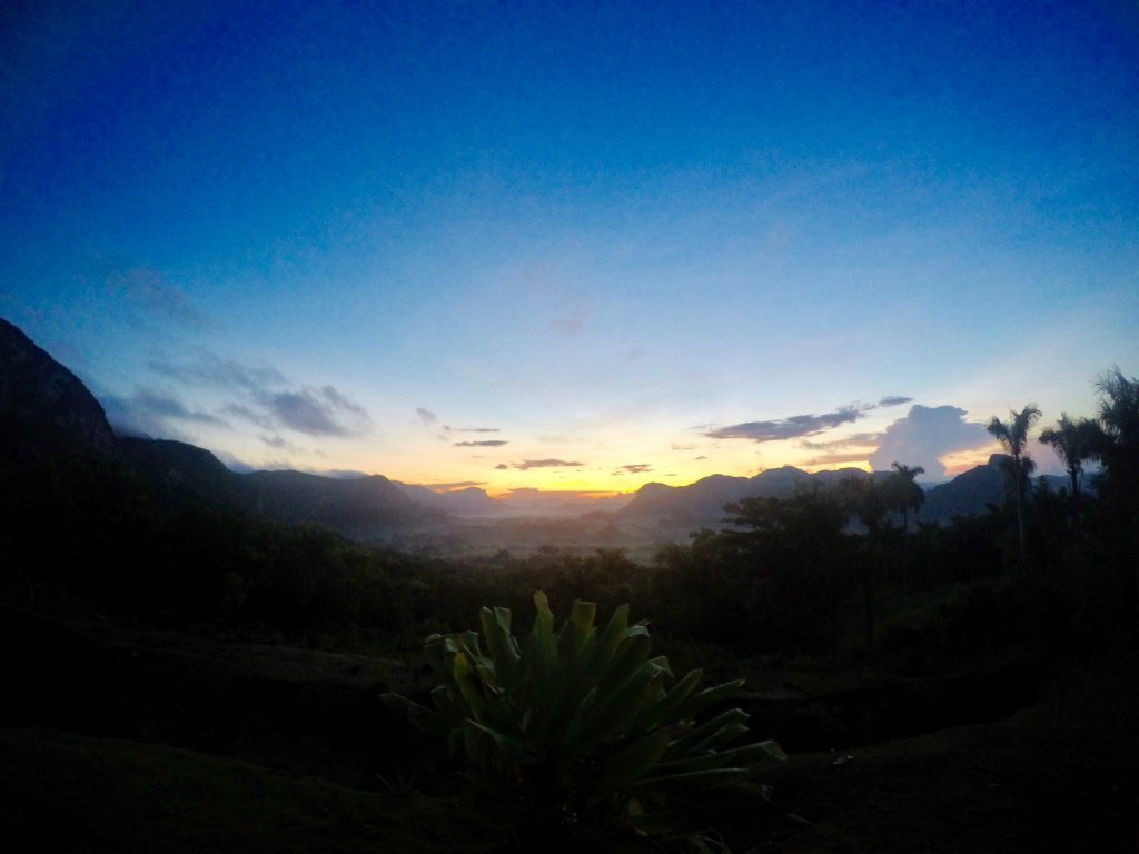 Sunrise Hike to Los Acuaticos in Vinales, Cuba