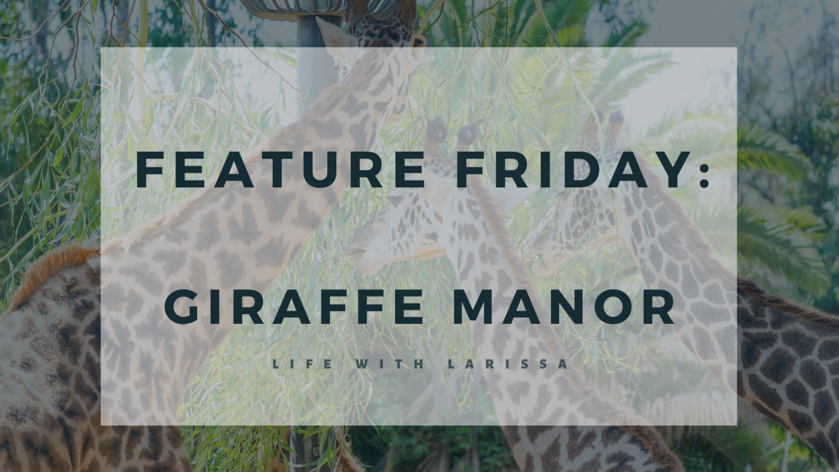 Feature Friday: Giraffe Manor